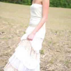 Virgo Ruffled Wedding Gown Sample